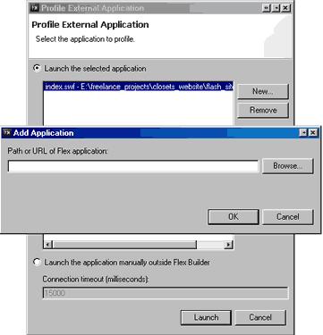 Select swf file