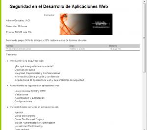 Seguridad en webapps